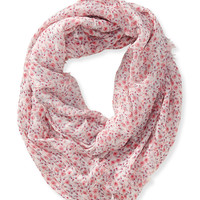 Aeropostale Ditsy Floral Infinity Scarf - Multi 922, One