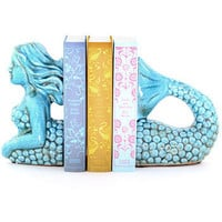 Spirited Sea Siren Bookends