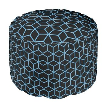 Wireframe Pouf design by Lyle Hatch | Zazzle.com