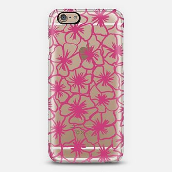 Flower Power Pink iPhone 6 case by Sandra Arduini | Casetify