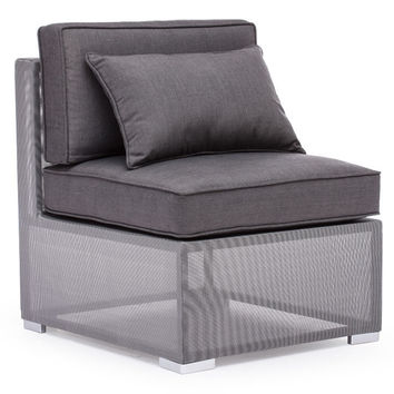 Zuo Modern Clear Water Bay Outdoor Middle Seat