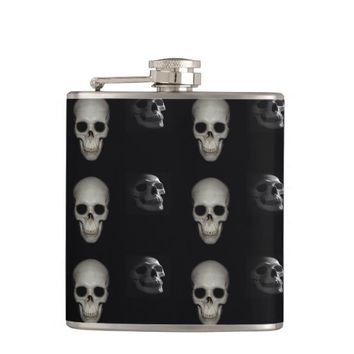 Skeleton In the Closet Flask