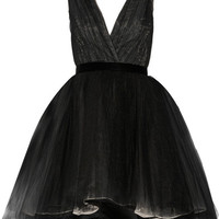 Alice + Olivia - Princess layered tulle mini dress
