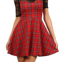TARTAN IS IN! THERE'S NO DOUBT! DRESS | Paper Kranes