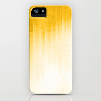 Yellow iPhone & iPod Case by Ornaart