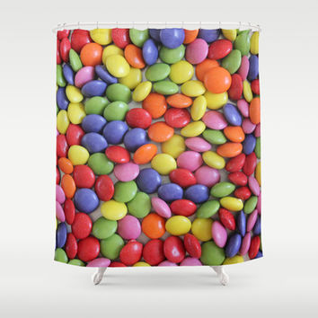 Sweets Shower Curtain by Ornaart