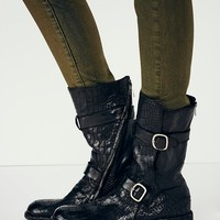 Free People Tempest Croc Boot