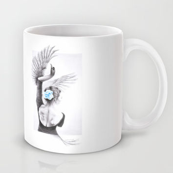 The Swan Mug by eDrawings38 | Society6