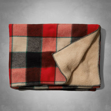 Woolrich with A&F Hickory Run Wool Stadium Blanket