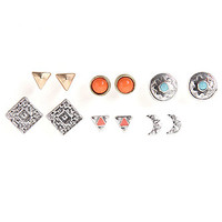 With Love From CA Moon and Geo Earring 6 Pack at PacSun.com