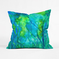 Underwater Landscape Pillow Cover