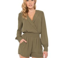 Quilted Shoulder Romper - Bottoms - Apparel | Sexy Clothes Womens Sexy Dresses Sexy Clubwear Sexy Swimwear | Flirt Catalog