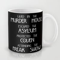 American Horror Story Four Seasons Mug by Zharaoh