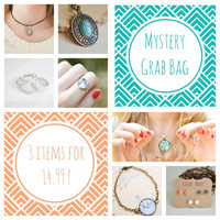 Mystery Grab Bag - 3 items for 14.99 !!!