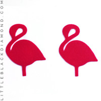 Hot Pink Flamingo Pastease® Pasties - Hot Pink Flamingo Pastease® Pasties / A-DD / Hot Pink
