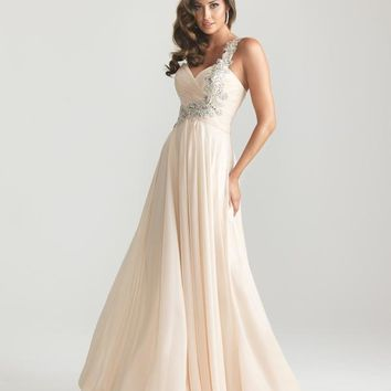 Night Moves Long 6679 Homecoming Dress
