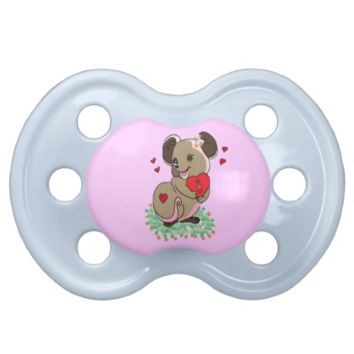 Love mouse pacifier