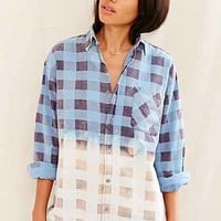 Urban Renewal Recycled Bleach-Dipped Flannel Shirt- Assorted