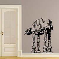 Wall Decal Vinyl Sticker Decals Art Home Decor Murals Star Wars AT-AT Walker Children Nursery Room Bedroom Office Window Dorm AN235