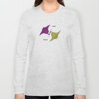 DevilFish Pinky Swear Long Sleeve T-shirts by Antoine