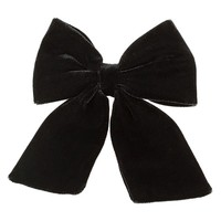Women's Topshop Velvet Hair Bow