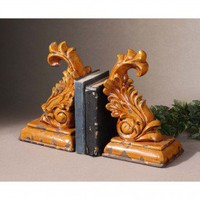 Uttermost Abu Bookends (Set of 2) - 19337