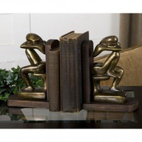Uttermost Deep Thought Bookends - 17070