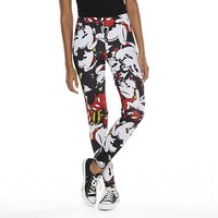 Disney Mickey Mouse Mickey Craze Leggings - Juniors (Other Clrs)