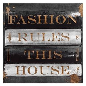 Fashion Rules | Canvas | Art by Type | Art | Z Gallerie