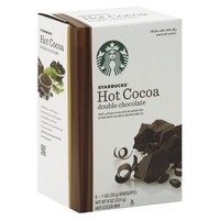 Starbucks Double Chocolate Hot Cocoa Mix 8 ct