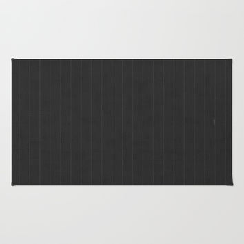 Art Deco Pin Stripe Area & Throw Rug by friztin