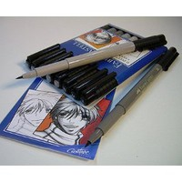 Amazon.com: PITT Artist Pens- Manga Set of Eight Assorted Pens: Office Products
