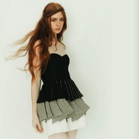 Price Reduced--Niora Dress--Eco-friendly bamboo and Organic Cotton Dress-- Sample sale