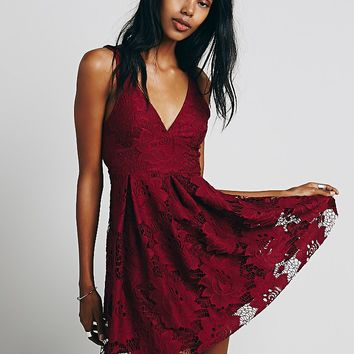Free People Take the Town Mini Dress