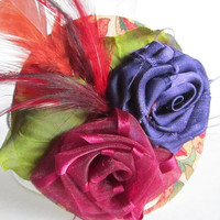 Vintage Look Fascinator Clip On