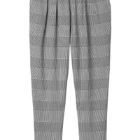 Monki | Trousers | Simone check trousers