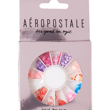 Aeropostale Assorted Nail Art Wheel - Extreme Blue, One