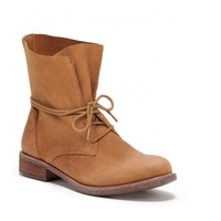 Sole Society Ripley Leather Lace Up Boots