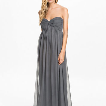Dreamy Dress - Nly Trend - Stone Grey - Party Dresses - Clothing - Women - Nelly.com