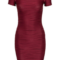 Ripped Bodycon Dress - Ax Paris - Burgundy - Party Dresses - Clothing - Women - Nelly.com