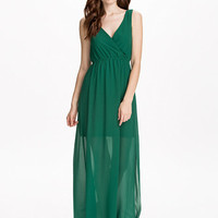 Karis Dress - Dry Lake - Dark Green - Dresses - Clothing - Women - Nelly.com Uk