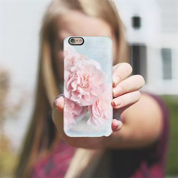 pink camellia iPhone 6 case by Sylvia Cook | Casetify
