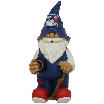 New York Rangers NHL Garden Gnome