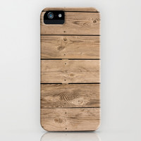 Wood I iPhone & iPod Case by Bruce Stanfield
