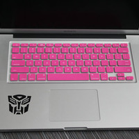 "Lavender Pink Keyboard Cover for ALL US Macbooks 13"" 15"" 17"""