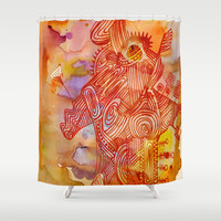 abstract nonsense Shower Curtain by Marianna Tankelevich