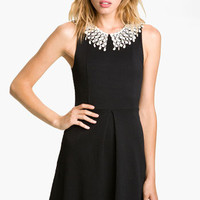 Free People Lace Collar Cutout Dress | Nordstrom