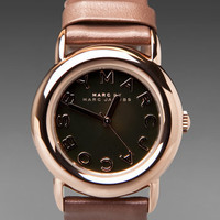 Marc By Marc Jacobs Big Idea Mirror Watch in Rose and Tan from REVOLVEclothing.com