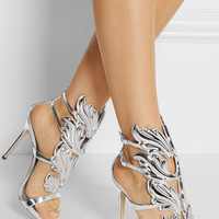 Giuseppe Zanotti - Embellished patent-leather sandals