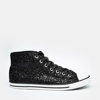 Converse Chuck Taylor All Star Dainty Black Glitter Trainers